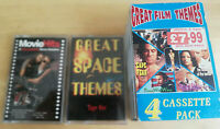 Movie / Film Themes music cassette Compilation Bundle (6 tapes, 1980s retro)