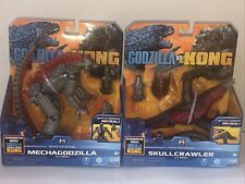 NEW Playmates Monsterverse Godzilla vs Kong Mechagodzilla , And Skull Crawler.
