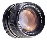 Konica Hexanon 50 mm f 1,4  AR ( 8 Blades )  SN:7046643 Top Prime Lens / 617