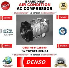 DENSO AIR CONDITIONING AC COMPRESSOR FEO: 883102B680 for TOYOTA CELICA BRAND NEW