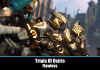 Destiny 2 - 3x Flawless Runs - Trials Of Osiris (24H COMPLETITION) [Cross-Save]