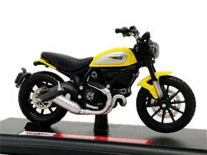 Maisto 1:18 Ducati Scrambler Diecast Motor Bikes