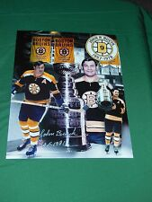 Johnny Bucyk Autographed 8x10 Photo Collage
