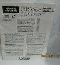 cld v860 cld v760 cd disc manual laser disk manual pioneer