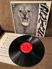 New listing SANTANA Self Titled (Lion Cover) 1969 Columbia 2-eye LP CS 9781 VG+ w/sleeve