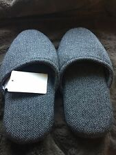 Frette Chevron Mixed Wool Slippers