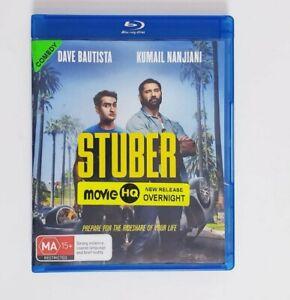 Stuber Bluray Movie - Free Postage Blu-ray Comedy Dave Batista