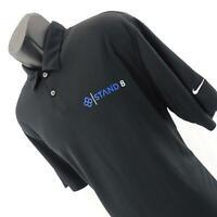 Mens Nike Dri Fit Performance Short Sleeve Athletic Golf Polo Shirt Size Large L