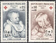 Reunion 1965 Red Cross Fund/Medical/Health/Renoir/Art/Children 2v set (n43691)