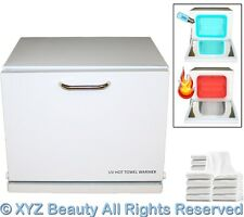 Mini Hot Towel Cabi Warmer UV Sterilizer 12 Hand Towels Beauty Salon Equipment