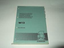 MANUALE D'OFFICINA CAGIVA W12