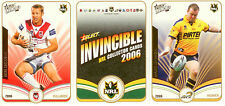 2006 Select NRL Invincible Full Base Set (182)