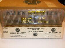 50 Allen Bradley Carbon Comp Resistors  180k  1/2 watt 5%