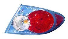 Tail Light Assembly Passenger Side Fits 2006-2008 Mazda 6 Non-Tubo Non-Sport