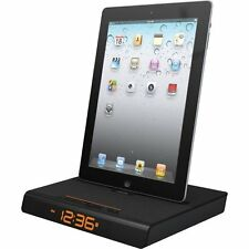 XtremeMac Luna Voyager II App Enhanced Dual Alarm FM Clock Radio Docking Station