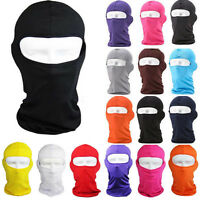 Full Face Mask lycra Balaclava Ultra-thin Outdoor Cycling Ski Neck Protecting JP