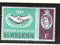 St. Helena Stamp Scott #182, Used Lightly Hinged