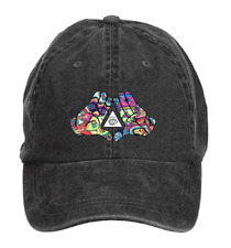 diamond-hands-trippy Washed Cap