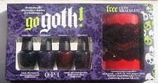 OPI Nail Polish  Go Goth! Mini Set Of 4 OPI Halloween Shades