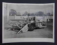 Photo ancienne BRAUD moissonneuse batteuse A2080 tractor tracteur Traktor 6