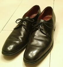 Church's Famous English Shoes 9.5 Vintage 1975 Oxford Wingtip Dress Black