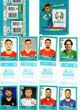 Panini EURO 2020 - EM 2020 Preview   10 Sticker aus fast allen (544) aussuchen