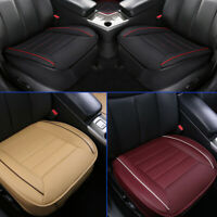Auto Car Seat Cover 3D Deluxe PU Leather Full Surround Pad Mat for Chair Cushion
