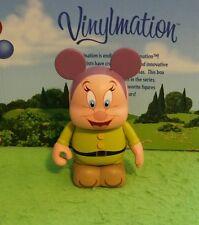 "DISNEY VINYLMATION Park - 3"" Set 2 Animation Dopey Seven Dwarves"