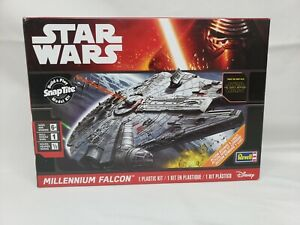 Star Wars Millennium Falcon Model Kit by Revell SnapTite - Brand New, Sealed