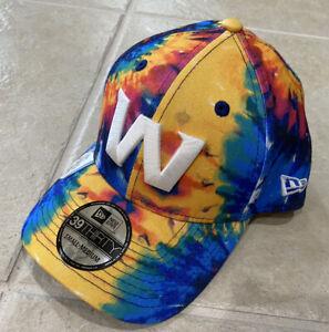 Washington Football Team New Era 2020 Crucial Catch Flex Fit M/L Men Tie Dye Hat