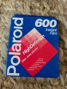 Polaroid 600 Instant Film Sealed Expired 08/97. One Pack of 10 pictures