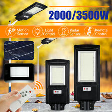 3500W Luz LED Solar Street 350000LM 936 Sensor De Movimiento Jardín lámpara de pared + Control Remoto