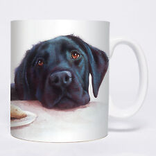Black Lab Mug - Ceramic - A Great Gift for a Labrador Dog Lover - New - Boxed