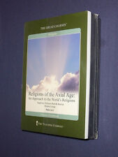 Teaching Co Great Courses  CDs      RELIGIONS OF THE AXIAL AGE      new & sealed