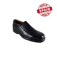 Zapatos Mocasines Negros de Piel para Hombre talla 39 40 41 42 43 44 45 46 47 48