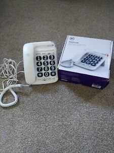 BT Big Button 200 Corded Telephone Large buttons Handsfree Speaker phone