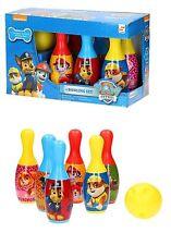 Paw Patrol Kids 6-pin Bowling Plastic Game Set