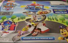 Paw Patrol Advenure Bay Rescue Way kids play set with 2 metal vehicles sealed