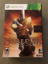 Fable III 3 Limited Collector's Edition XBOX 360
