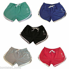 Machine Washable Low Rise Athletic Shorts for Women