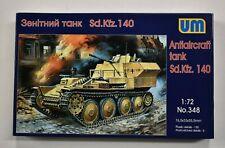 Lot 11-325 * UM 1:72 Scale kit No. 348, Sd.Kfz. 140 Antiaircraft Tank