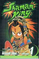Shaman King Vol 1 by Hiroyuki Takei  2003 TPB Viz Shonen Jump Manga