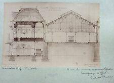 3 PHOTOS PROJET ARCHITECTURE LOUIS MARC EMERY SUISSE ATELIER PASCAL GARE 1887