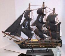 Pirate Ship Skull & Cross Bones Desk Top Nautical Decor Hobby Lobby
