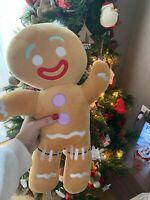 Gingerbread MAN Cartoon Movie Story Toy Soft Plush Stuffed Bundle Doll Kids Gift