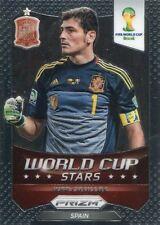 Panini Prizm Copa del Mundo 2014 estrellas de la Copa del Mundo #33 Iker Casillas