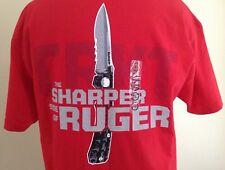 New CRKT The Sharper Side of Ruger T-Shirt Men's size XL T-Shirt