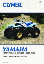 Yamaha YTM/YFM200 & YTM225 83-86 Workshop Manual