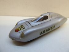 SOLIDO - FIAT ABARTH - 1/43 - GRISE / GREY - SERIE 100 - REF 113 TOP