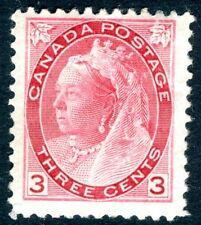 CANADA-1898 3c Rose-Carmine Sg 156 AVERAGE MOUNTED MINT V16800